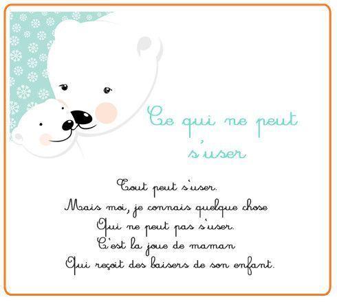 Po me pour maman - Poeme de noel pour maman et papa ...