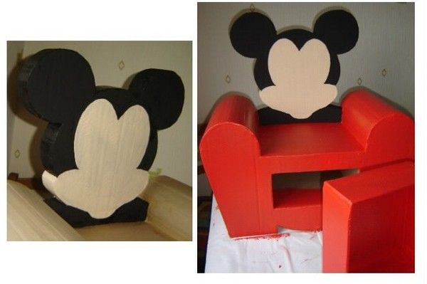 fauteuil mickey 3 - Fauteuil Mickey