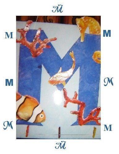 """initiale """"M"""""""