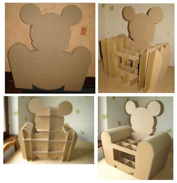 fauteuil mickey - Fauteuil Mickey