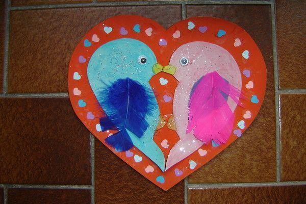 Le coeur de la saint valentin centerblog - Bricolage st valentin facile ...