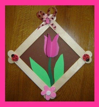 """tableau """"tulipe"""" (4)"""