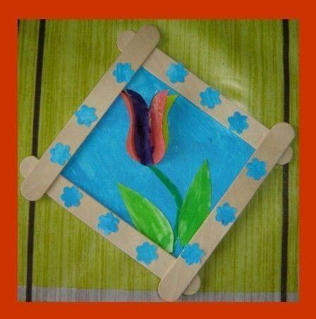 """tableau """"tulipe"""" (3)"""